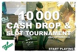 Cash Drop at Mr Green Casino