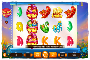 Theme Park: Tickets of Fortune Slot Review