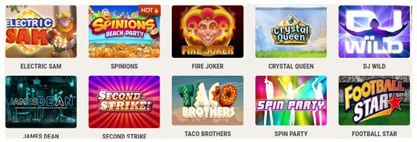 instacasino games and slots