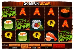 So Much Sushi Slot Review