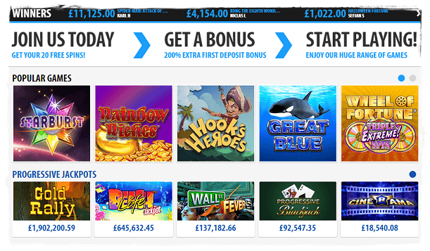 bgo casino games and slots