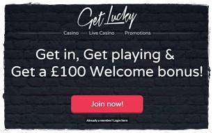 get lucky casino bonus