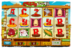 Crazy Cows Slot Review
