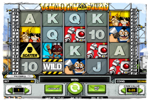 Demolition Squad Slot Review