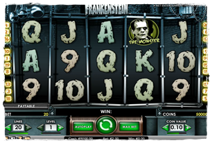 Frankenstein Slot Review