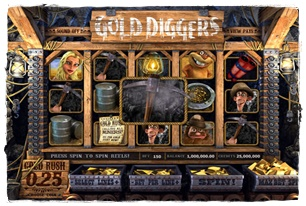 Gold Diggers Slot Review