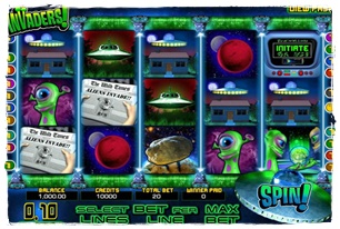 Invaders Slot Review