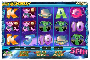 Out of this World Slot Review