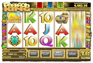 Pharaoh King Slot Review