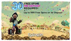 spinson casino bonus