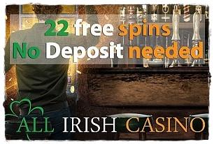 all irish casino bonus