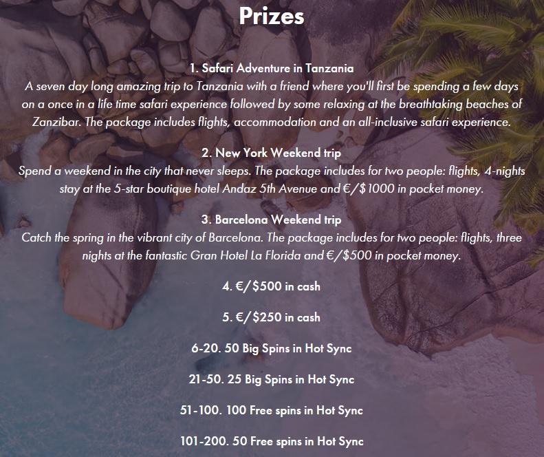 Dunder Prizes