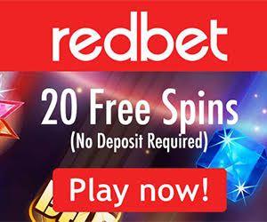 RedBet Casino 20 No Deposit Free Spins